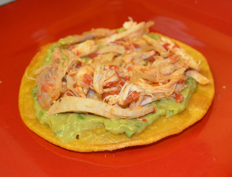Rotisserie Chicken Tostadas | Dave's Droppings