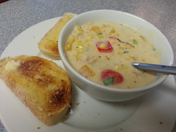 Corn and Cheese Chowder | Dave's Droppings